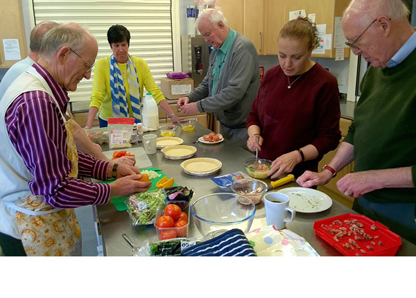 Carer's Group Cooking Apr 2019